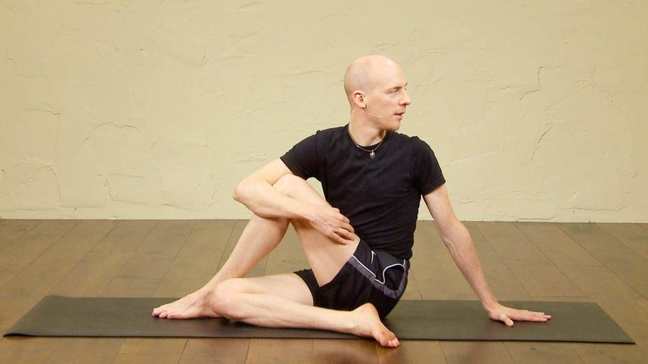 Hatha Yoga Beginners Class With Basic Postures