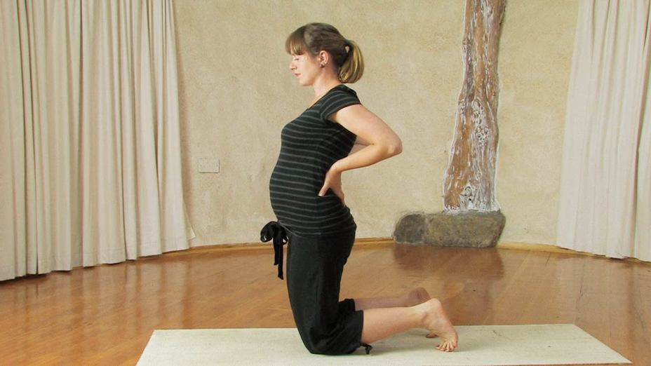 First And Second Trimester Pregnancy Yoga