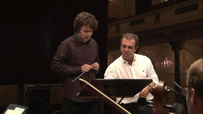 Conducting Masterclass with Daniele Gatti 2017 Day 1